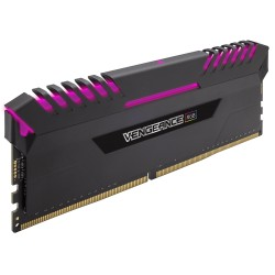 Kit Memoria Corsair Vengeance RGB, 16GB (2 x 8GB), DDR4, 3200 MHz, PC4-25600, CL-16, 1.35V