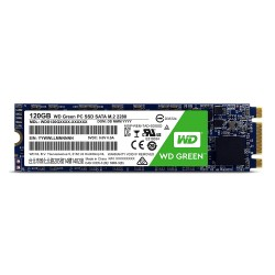 Unidad de estado solido Western Digital Green, 120GB, SATA 6Gb/s, M.2 2280