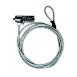 Cable de seguridad Laptop Xtech XTA-110 4-digit combination lock, 180cm
