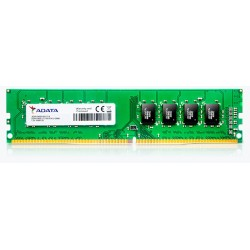 MEMORIA ADATA DDR4 4GB, Unbuffered-DIMM, 2400 A-DATA, AD4U2400J4G17-B