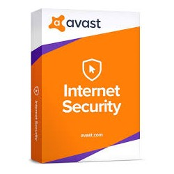 AVAST INTERNET SECURITY 2018, 3 PC, 12MESES