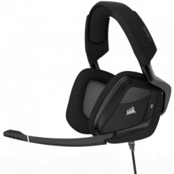 Auricular Gamer Corsair VOID PRO RGB USB, Premium Gaming, Headset with Dolby®, Headphone 7.1, cable 1.8 mts, color Carbon