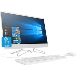 "All-in-one HP 24-r102la, AMD A9 A9-9425, 8GB DDR4, 1 TB HDD, DVD+RW, 23.8"", Windows 10 Home, Blizzard white, Spanish"