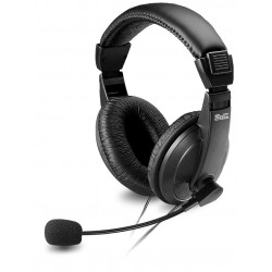 Auricular Klip Xtreme - KSH-301 - Headset, Wired, Stereo w/vol control, jack 3.5mm