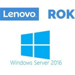Licencia Microsoft Windows Storage Server 2016 Standard, 2 proces, OEM, ROK, bloqueado por BIOS (Lenovo), Multilingual