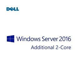 Licencia Dell Microsoft Windows Server 2016 Standard, OEM, ROK, 2 Núcleos Adicionales.