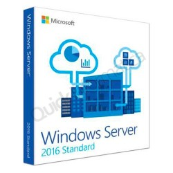 Licencia DVD OEM WINDOWS SERVER STANDARD 2016 64BIT, SPANISH, 1PK, DSP, 16 CORE