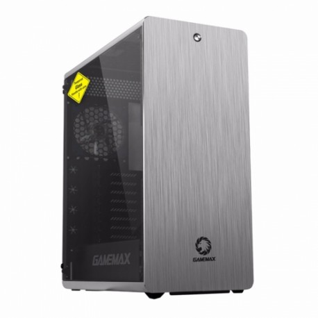 Case sin fuente Gamemax GAMING FULL TOWER RAIDER XT, aluminio, ventanas laterales vidrio, e-atx