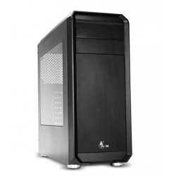 Case sin fuente Xtech DELIRIUM XT-GMR1, atx mid tower, gamer, ventana lateral transparente