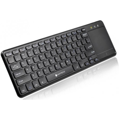 TECLADO WIRELESS TOUCHPAD ANTRYX AIRKEY WK-600, AWK600K-SP, 2.4ghz, USB