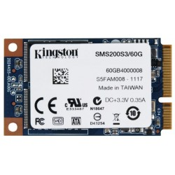 Unidad en estado solido Kingston SSDNow mS200  60GB  mSATA  6Gb/s.