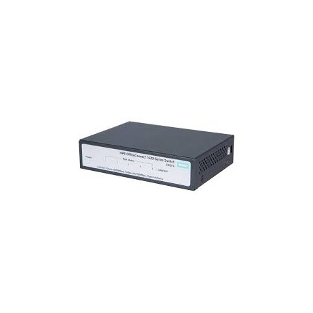 Switch Gigabit Ethernet HPE OfficeConnect 1420, 5 RJ-45 GbE 10/100/1000 Mbps, 3 W.