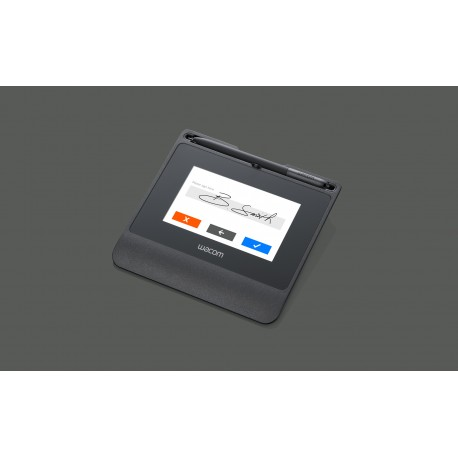 Tableta de firma wacom STU540, Large 5.0 Pulgadas Color Lcd Display Usb Cable Connection Improved Thin-Client.
