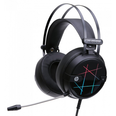 Auriculares  HP GAMING H160, luces LED, 3.5mm, 2.2mts
