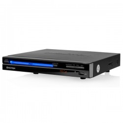 Reproductor DVD PLAYER Maxtron MX1801, Negro, USB/ SD, 02 MIC, Salida Audio 2.0, Graba del CD al USB/SD  - Karaoke, C/Remoto