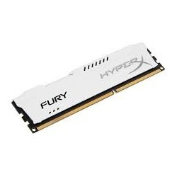 Memoria Kingston HyperX Fury White  8GB  DDR3  1866 MHz  CL10.