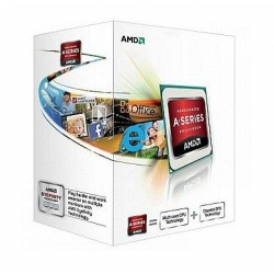 Procesador AMD A4-4020  3.20GHz  512 KB x 2 L2  FM2  65W  32nm  Caja. Video Integrado Radeon HD 7480D.