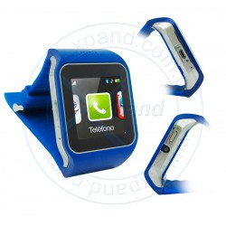 "SmartWatch Intense Devices SwS401, 1.44"" touch, 128x128, GSM, Bluetooth, microUSB."