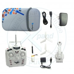 "Kit Drone AD-212 y Tablet Landbyte LT-5858 7"", WiFi 2.4GHz, Cámara."
