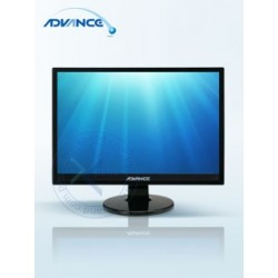 Monitor Advance A-195M  19.5 LED  1600 x 900. Brillo 300 nits  contraste 1000:1  Interfaz VGA.""