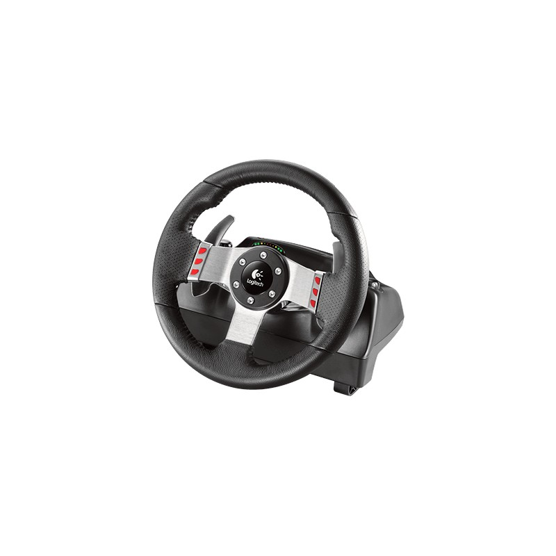 volante de carreras vibration racing wheel logitech g27 palanca de 6 velocidades pedales de. Black Bedroom Furniture Sets. Home Design Ideas