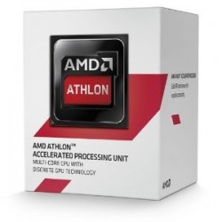 Procesador AMD Athlon 5150  1.60 GHz  512 KB x 4 L2  AM1  25W  28nm  Caja. Video integrado Radeon R3 Series
