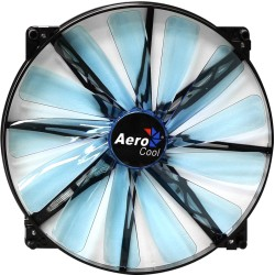 COOLER AEROCOOL Lightning Led 20cm, 700 rpm, 22db, (rojo), (azul)
