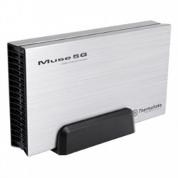"Enclosure para disco duro Thermaltake Muse 5G, 3.5"", SATA I/II/II, USB 3.0."
