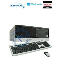Computadora Advance Vission VS6346  AMD Dual-Core E350D
