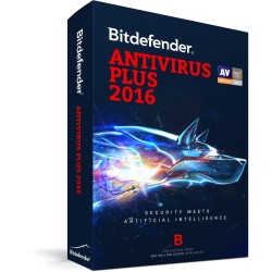 Software Bitdefender Antivirus Plus 2015, 2 PC - 1 año.