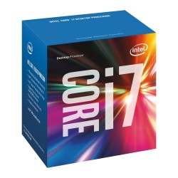 Procesador Intel Core i7-6700, 3.40 GHz, 8 MB Caché L3, LGA1151, 65W, tecnología 14 nm.  Integra Intel HD Graphics 530.