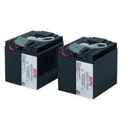 Bateria APC Replacement Battery Cartridge RBC55, (2x12V/17Ah), Presentacion en Caja