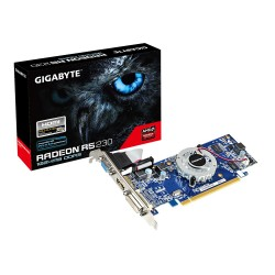 Tarjeta de video GIGABYTE AMD Radeon R5 230  1GB DDR3 64-bit  DVD/HDMI/VGA  PCI-E 2.1.