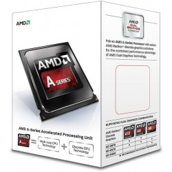 Procesador AMD A4-6320  3.8GHz  512 KB x 2 L2  FM2  65W  32nm  Caja. Video Integrado Radeon HD 8370D.