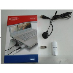 SINTONIZADOR DE TV USB DIGITAL FULL HD, USB 2.0 -TV ESTÁNDAR ISDB T - FRECUENCIA DE RECEPTOR : FULL 720 P HASTA 1080