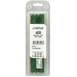 Memoria Crucial CT51264BA160BJ  4GB  DDR3  1600 MHz  CL11.