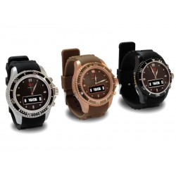 "SmartWatch Intense Devices ID-M03, 0.68"", 96x32, Bluetooth, metal / marron. Contador de pasos, llamadas, recordatorios, reloj"
