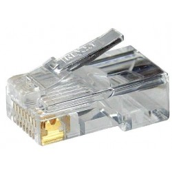 "Connector RJ45 Nexxt Solutions 50u"" Cat5e, empaque 100 unidades"