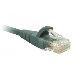 Patch cable UTP Nexxt Solutions PCGPCC6CM01GR, 24AWG, CAT 6, 30 cm