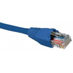 Cable de Interconexión UTP Nexxt Solutions AB360NXT24, Cat5e, 24AWG, AZUL