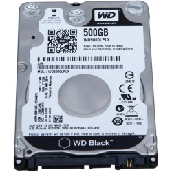 "Disco duro Western Digital Black, 500GB, SATA 6.0 Gb/s, 7200 RPM, 2.5""."