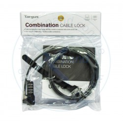 Cable de seguridad Targus Lock Combinaton, para notebook.