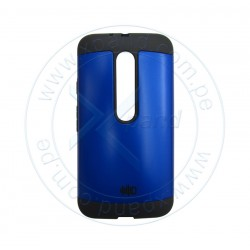 Funda protectora Intense Devices ID-ARMTMGBL, para Moto G, Azul.