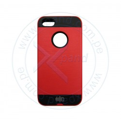 Funda protectora Intense Devices ID-SKARI5SRD, para Iphone 5/5S, rojo.