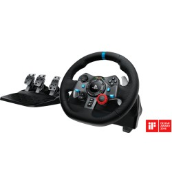TIMON Con PEDAL LOGITECH G29 RACING WHEEL PS4/PS3/PS2/ USB BLACK  941-000111
