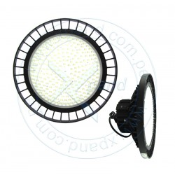 Reflector LED High-Bay, 200W, 90-305 VAC, 24000 LM, 4000K. 50-60 VDC, 3.3A, 120 LM/W, 234 leds Nichida 3030.