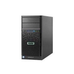Servidor HP ProLiant ML30 Gen9, Intel Xeon Quad-Core E3-1220v5 3.0GHz, 4GB DDR4, 1TB SATA. DVD-RW, LAN GbE