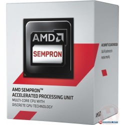 Procesador AMD Sempron 2650  1.45 GHz  512 KB x 4 L2  AM1  25W  28nm  Caja