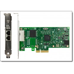 Tarjeta Intel I350-T2 2xGbE BaseT Adapter for IBM System x - network adapter