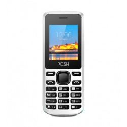 Telefono movil Posh Lynx A100 - Negro, blanco - TFT